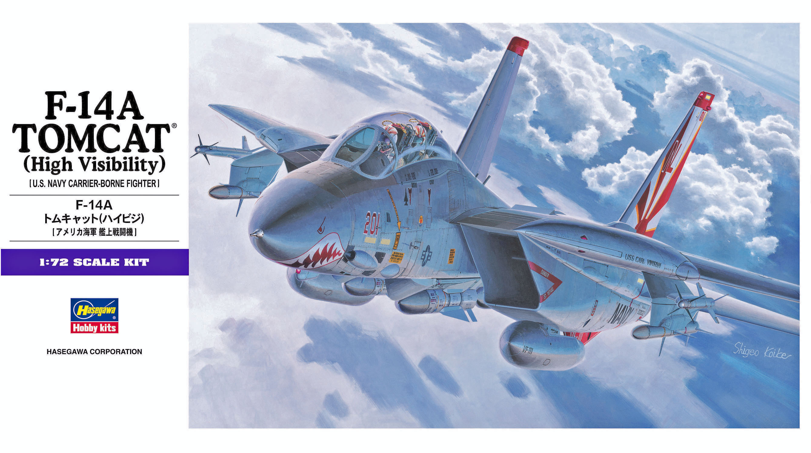Hasegawa 1/72 F-14A Tomcat (High Visibility)