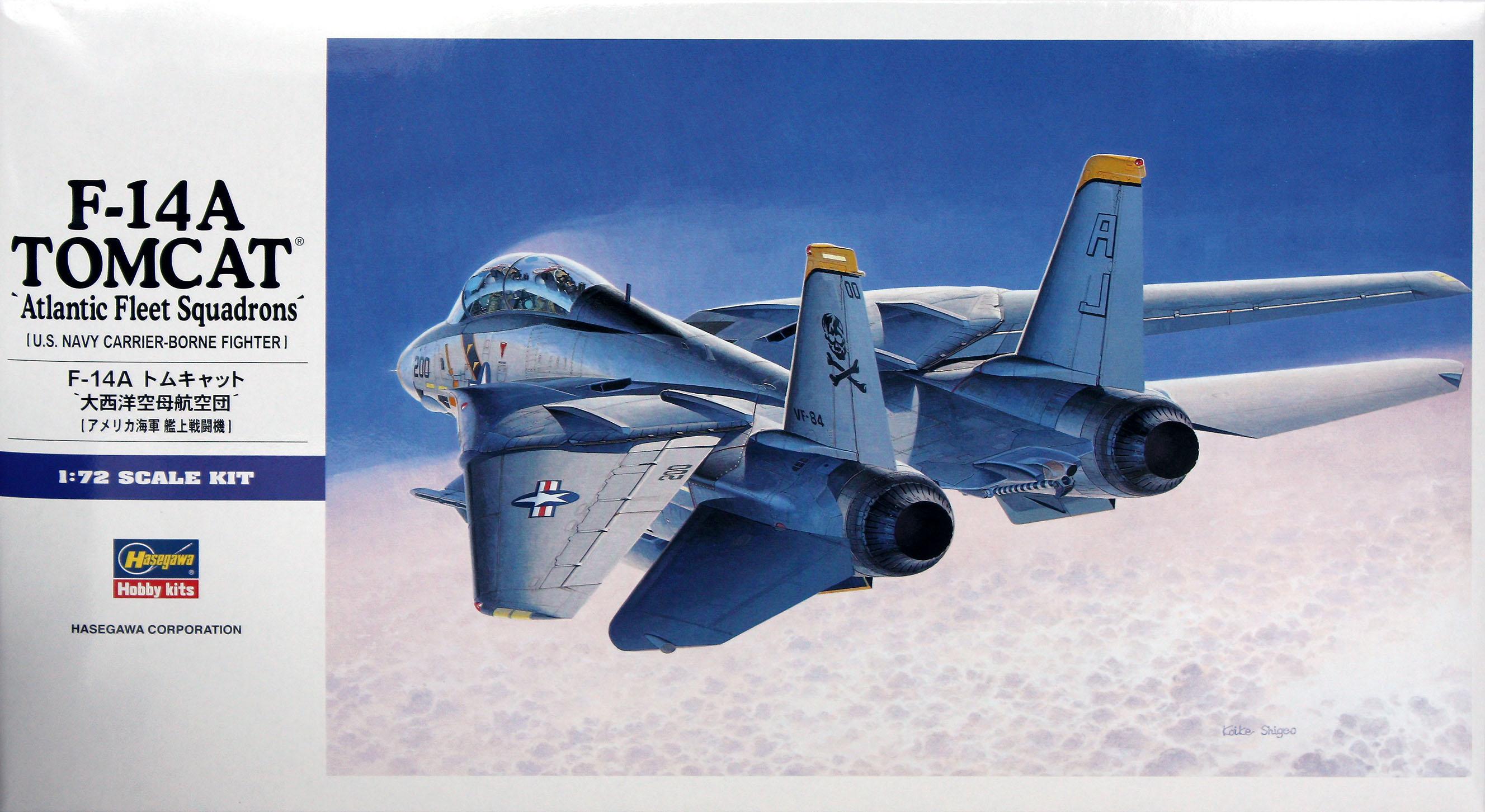 Hasegawa 1/72 F-14A Tomcat (Atlantic FS)