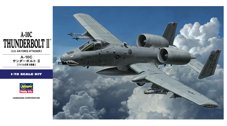 Hasegawa 1/72 A-10C Thunderbolt II