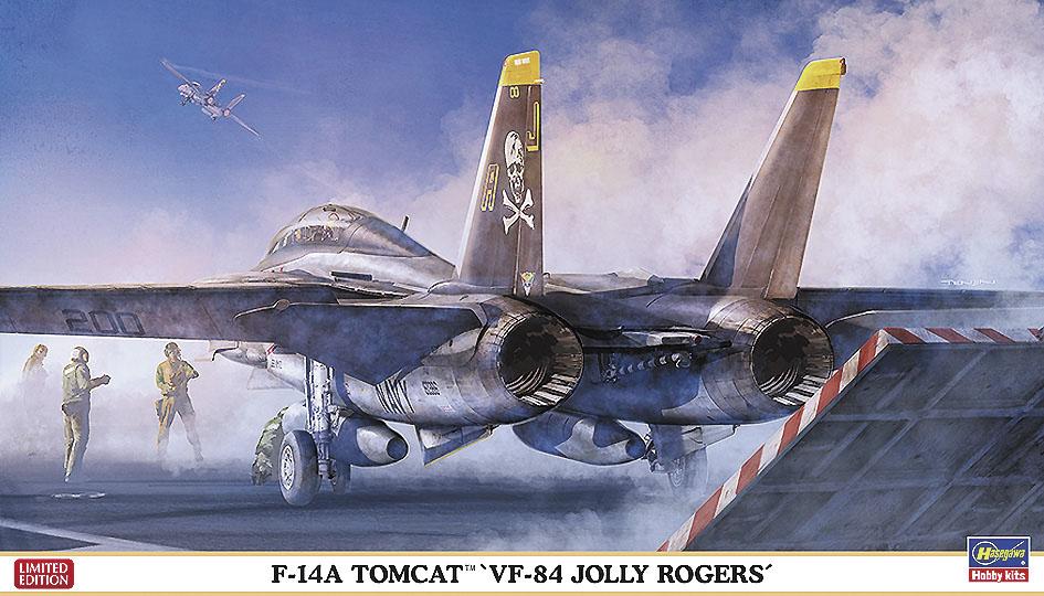 "Hasegawa 1/72 F-14A ""VF-84 Jolly Rogers"""