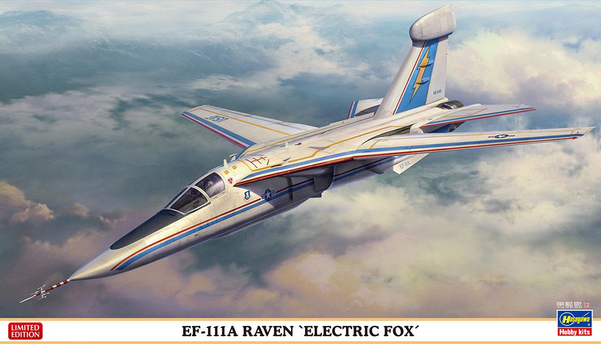 "Hasegawa 1/72 EF-111A Raven ""Electric Fox"""