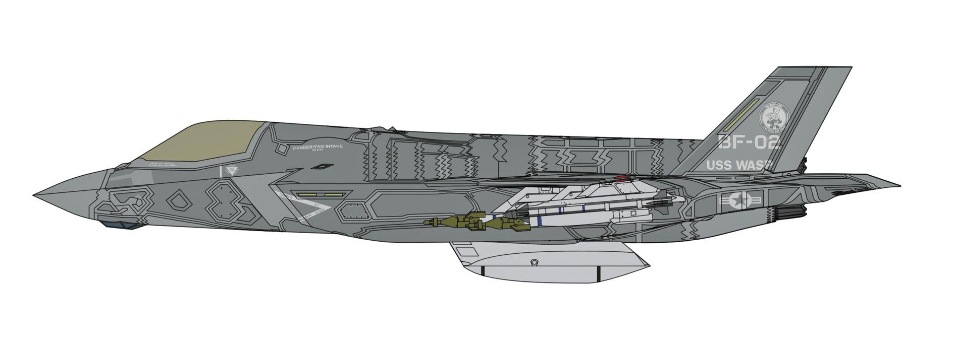 Hasegawa 1/72 F-35 Lightning II (B Ver.)