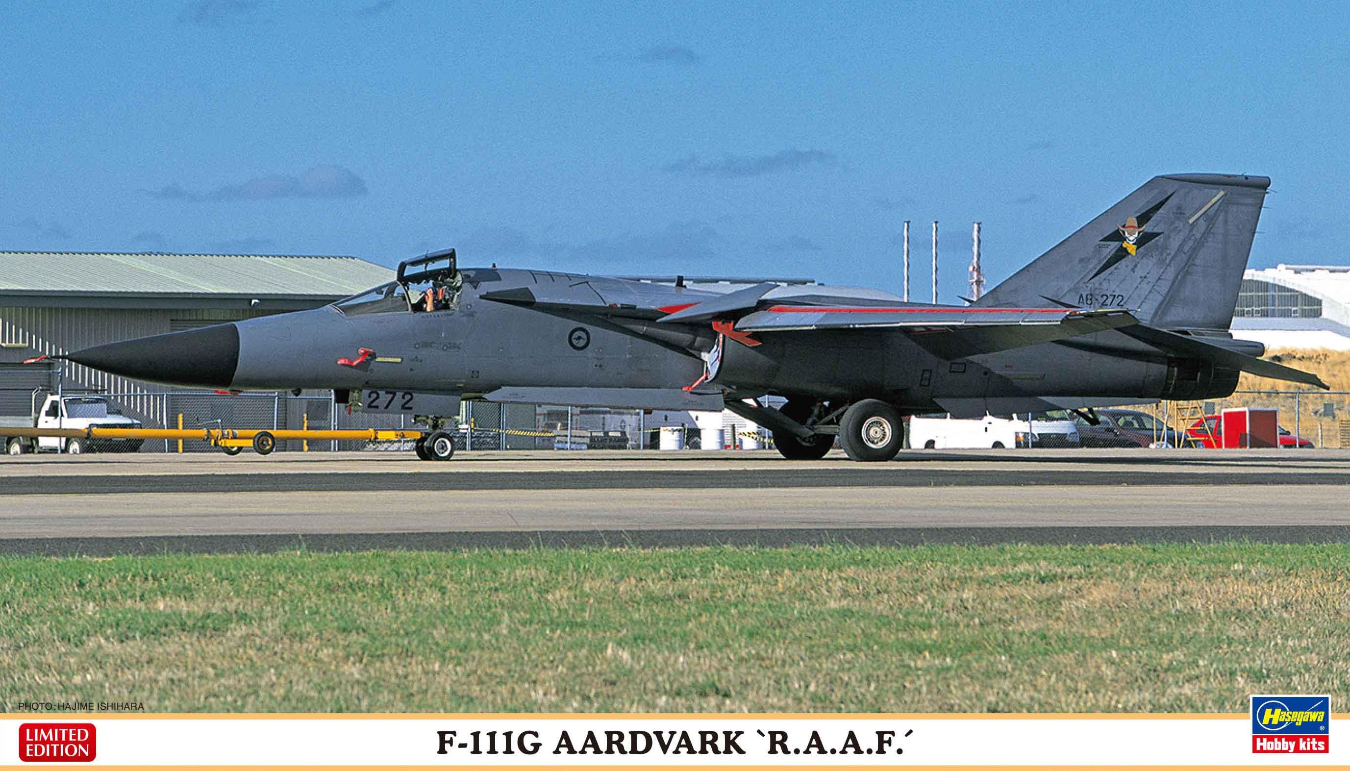 """Hasegawa 1/72 F-111G AARDVARK """"R.A.A.F."""""""