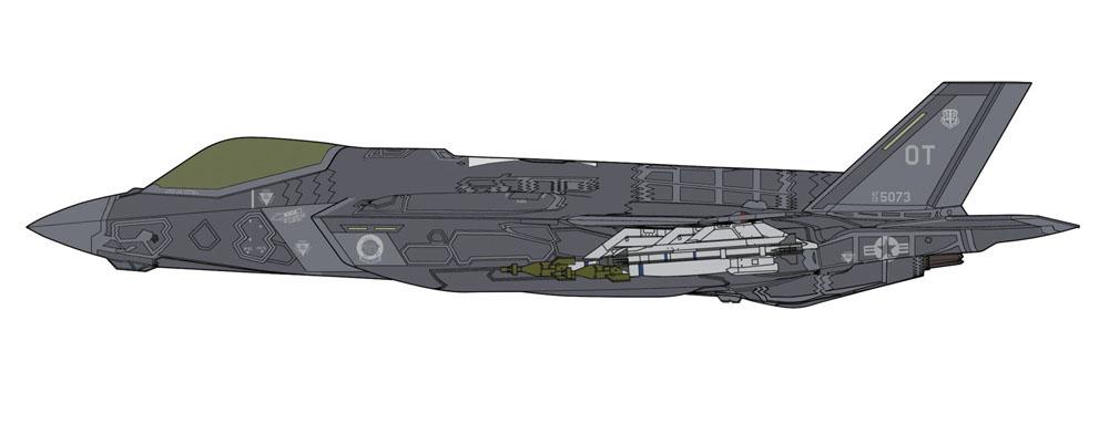 "Hasegawa 1/72 F-35 LIGHTNING II (A Version) ""BEAST MODE"""