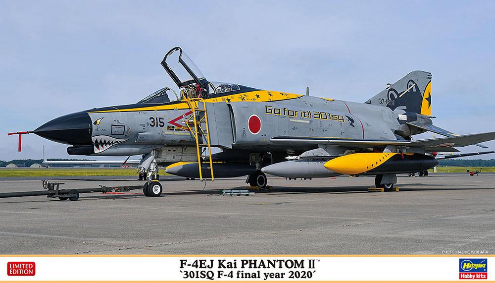 Hasegawa 1/72 F-4EJ Kai PHANTOM II 301