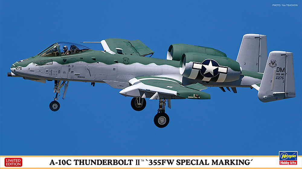 "Hasegawa 1/72 A-10C ""355FW SPECIAL"""