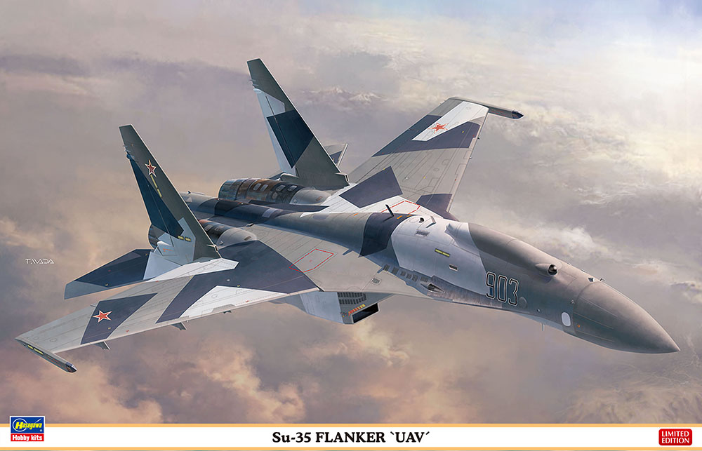 "Hasegawa 1/72 Su-35 Flanker""UAV"""