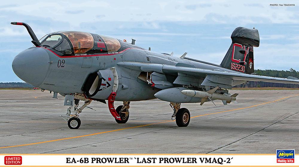 """Hasegawa 1/72 EA-6B Prowler """"Last Prowler VMAQ-2"""""""