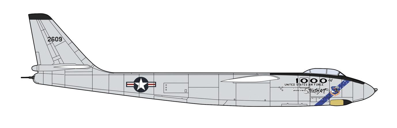 "Hasegawa 1/72 B-47E Stratojet ""1000th Stratojet"""