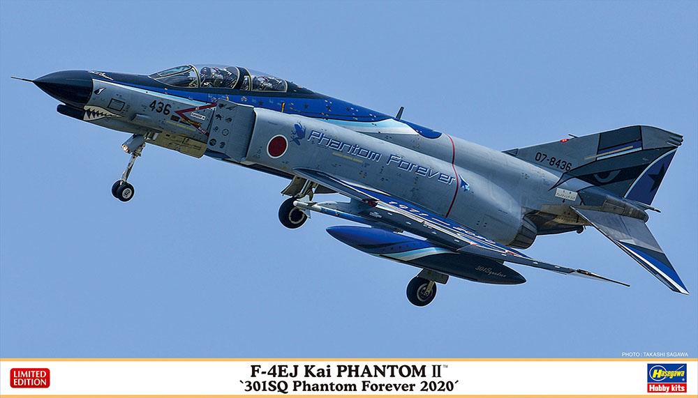 """Hasegawa 1/72 F-4EJ Kai """"301SQ Phantom Forever 2020"""""""
