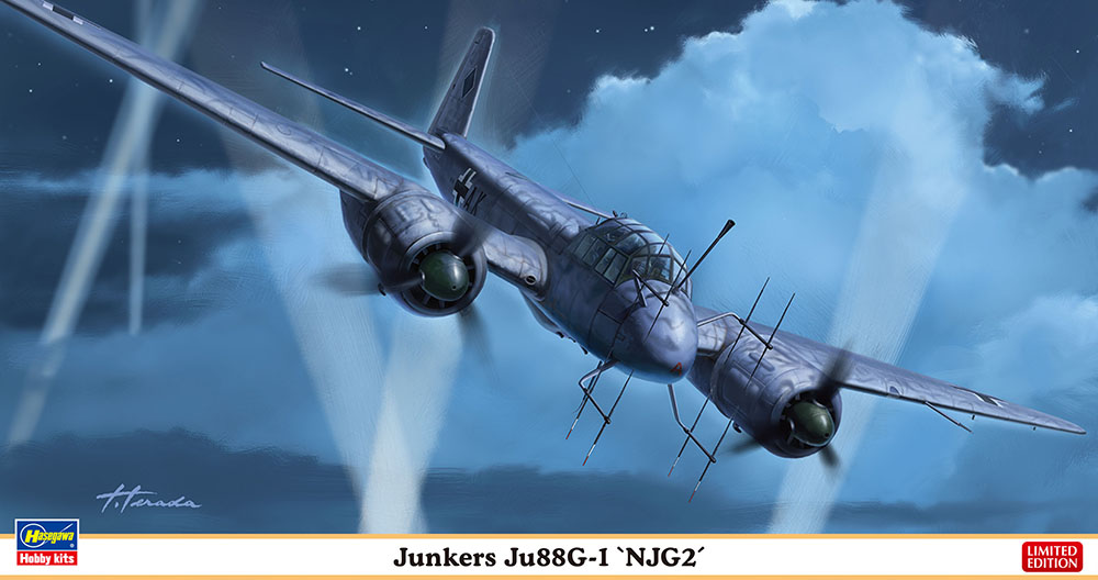 """Hasegawa 1/72 Junkers JU88GT """"NJG2"""""""