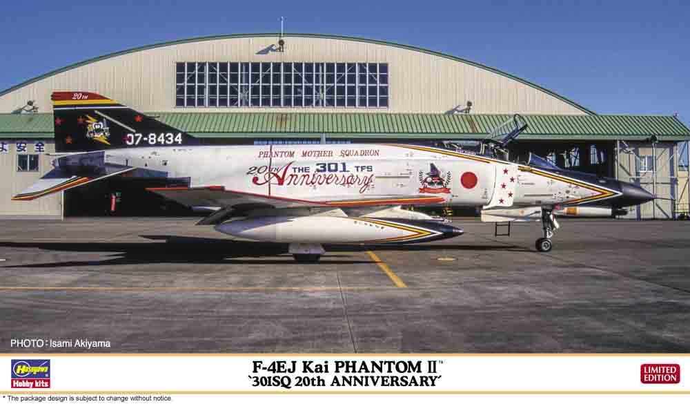 Hasegawa 1/72 F-4EJ Kai Phantom II 301SQ 20th Anniversary