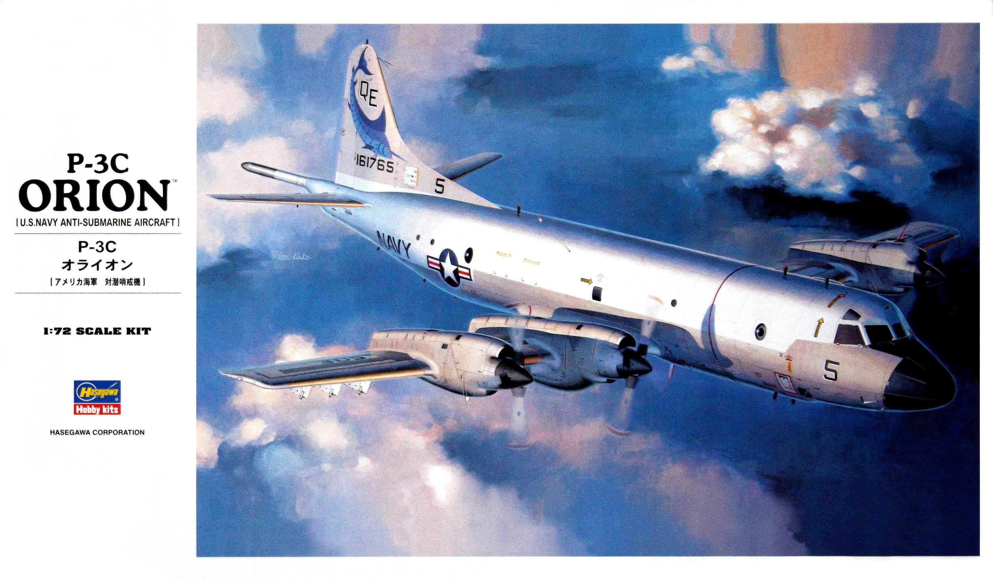 Hasegawa 1/72 P-3C Update II/III Orion