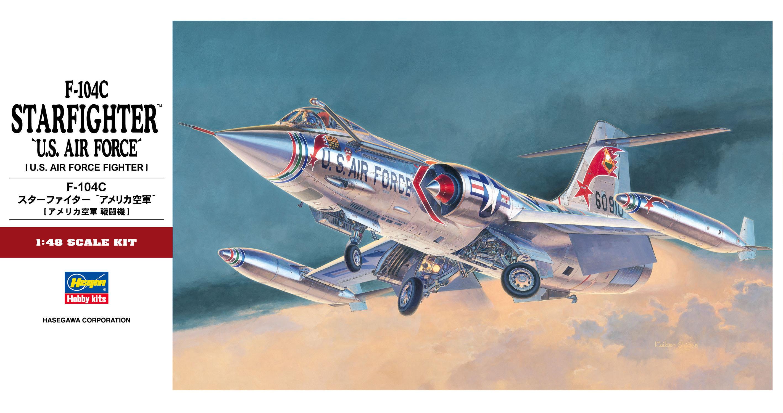 """Hasegawa F-104C Starfighter """"U.S. Air Force"""""""