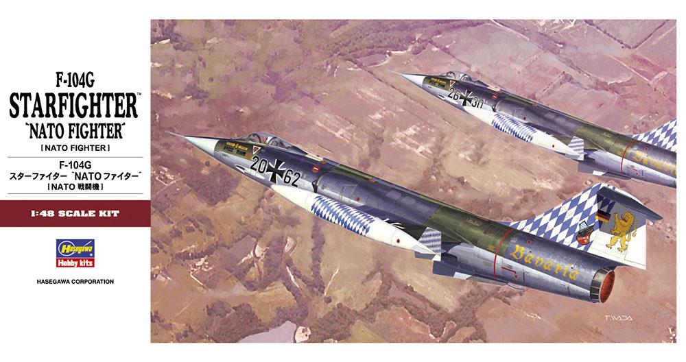 "Hasegawa 1/48 F-104G ""NATO Fighter"" PT20"