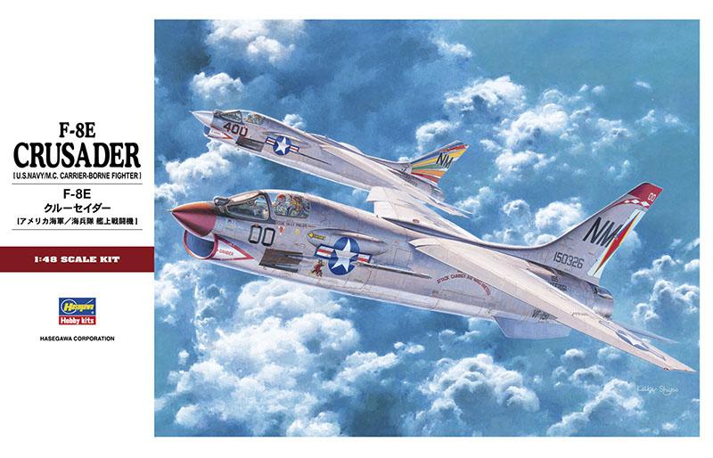 Hasegawa 1/48 F-8E Crusader PT25