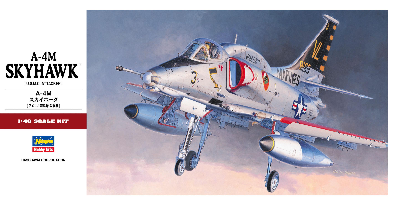 Hasegawa 1/48 A-4M Skyhawk