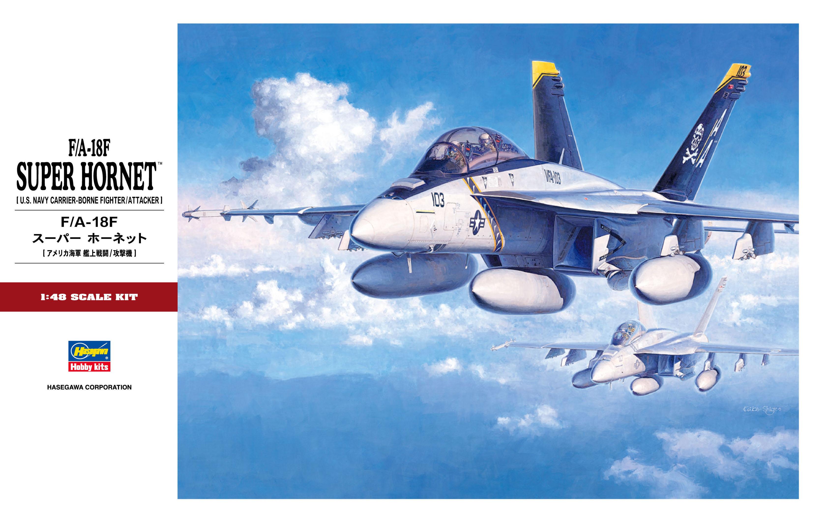 Hasegawa 1/48 F/A-18F Super Hornet