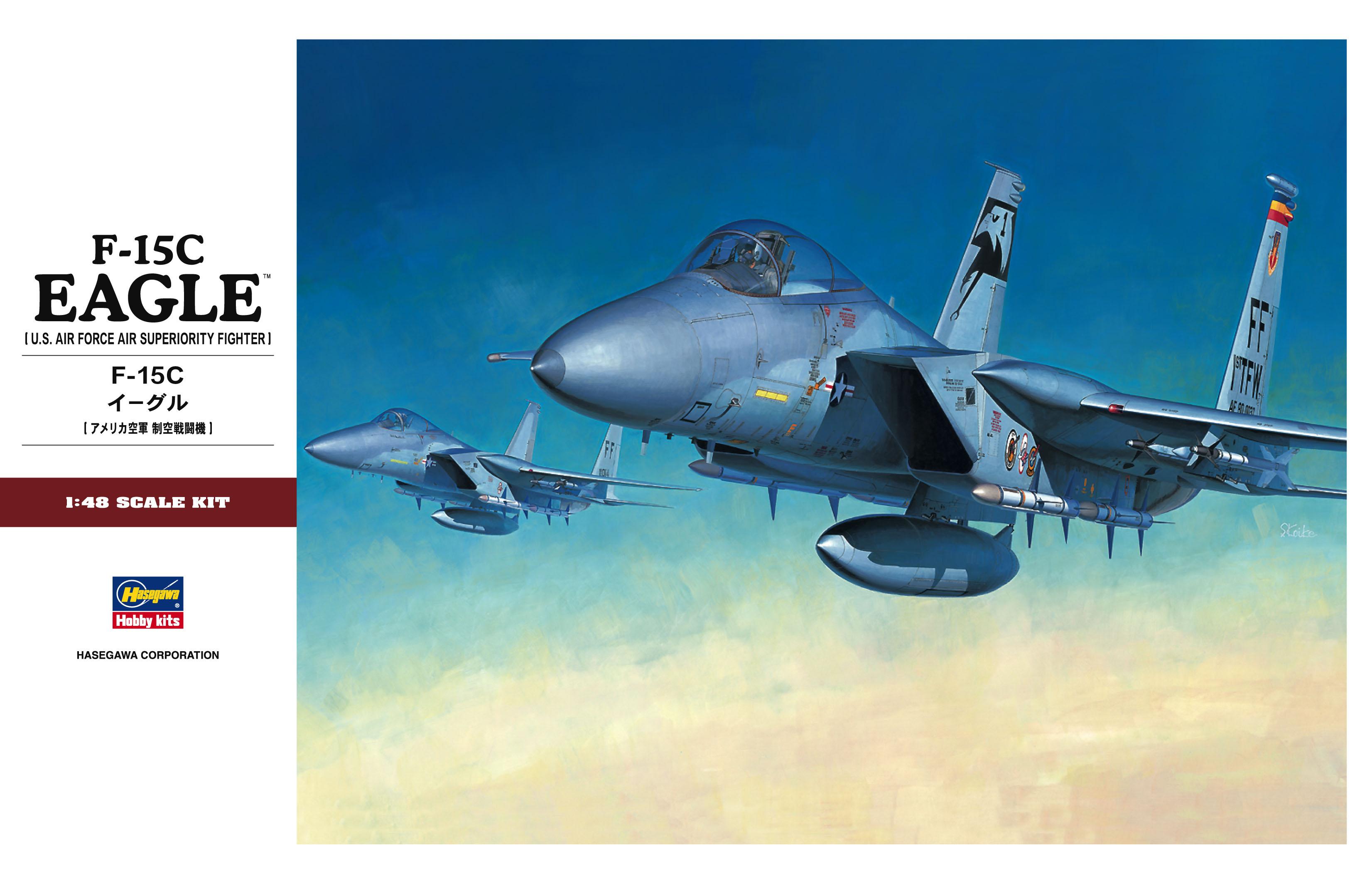 Hasegawa 1/48 F-15C Eagle PT49