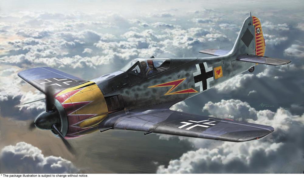 """Hasegawa 1/48 Focke-Wulf Fw190A-4 """"GRAF"""" w/ Figure"""