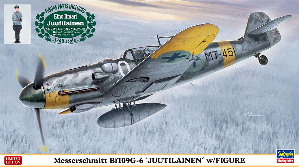 """Hasegawa 1/48 Bf109G-6 """"JUUTILAINEN"""""""