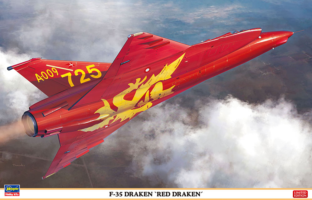 """Hasegawa 1/48 F-35 Draken """"Red Draken"""""""