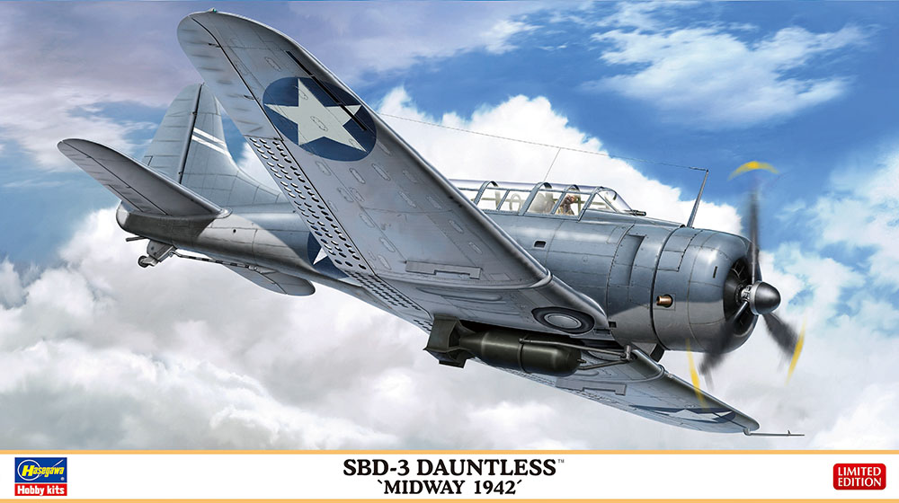 Hasegawa 1/48 SBD-3 Dauntless Midway