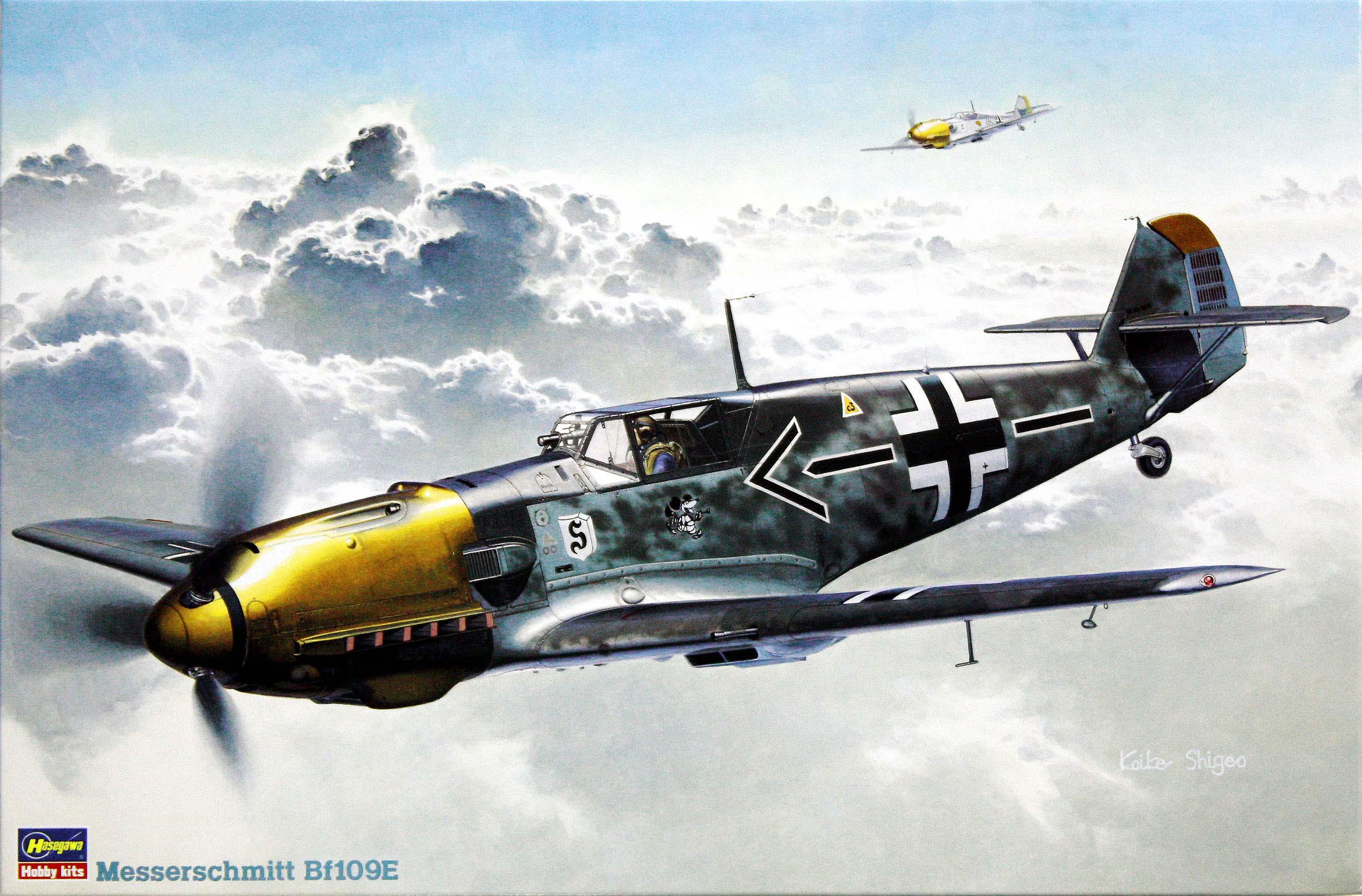 Hasegawa Messerschmitt Bf109E