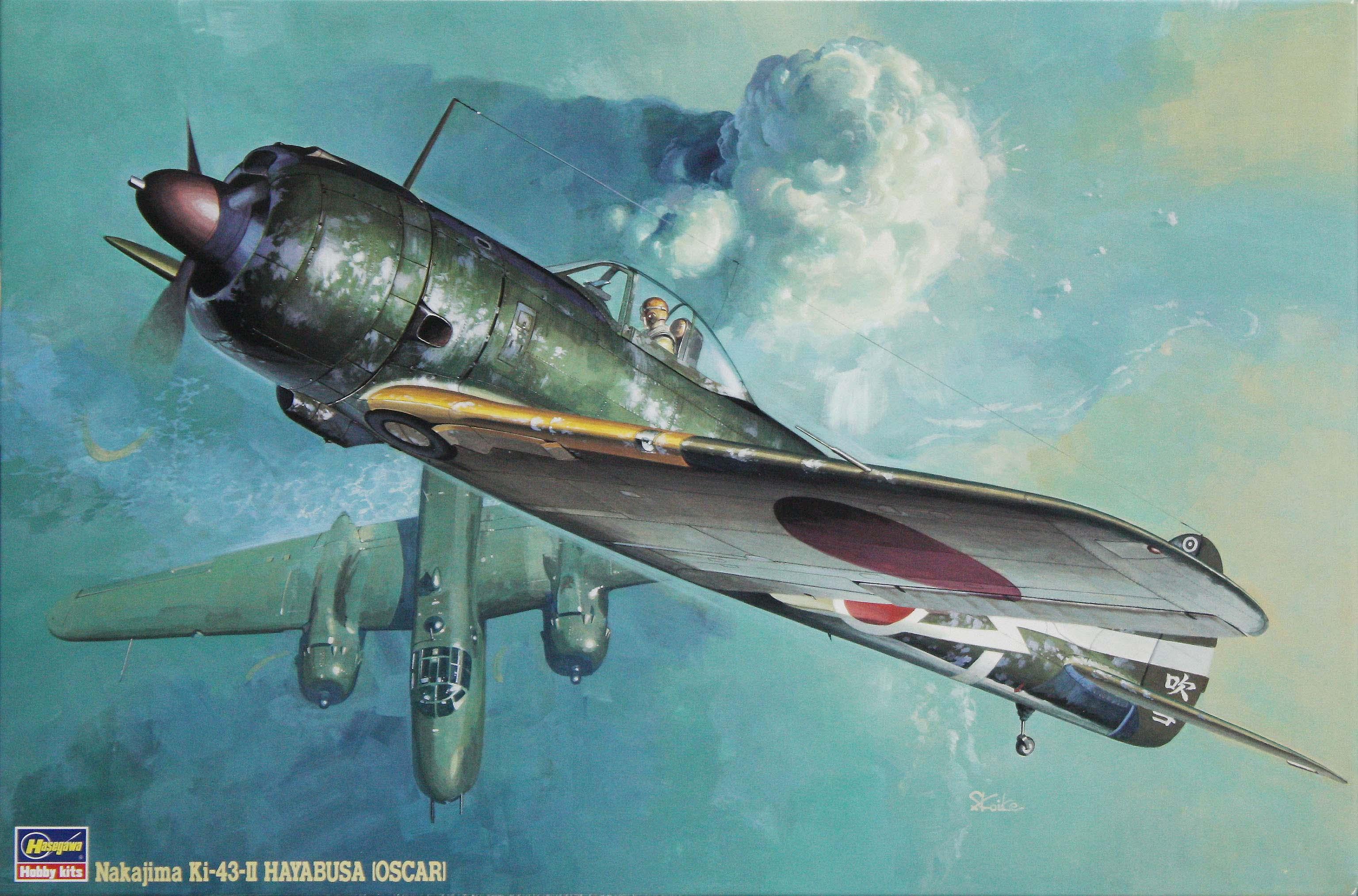 Hasegawa 1/32 Ki-43-II Oscar (Hayabusa)