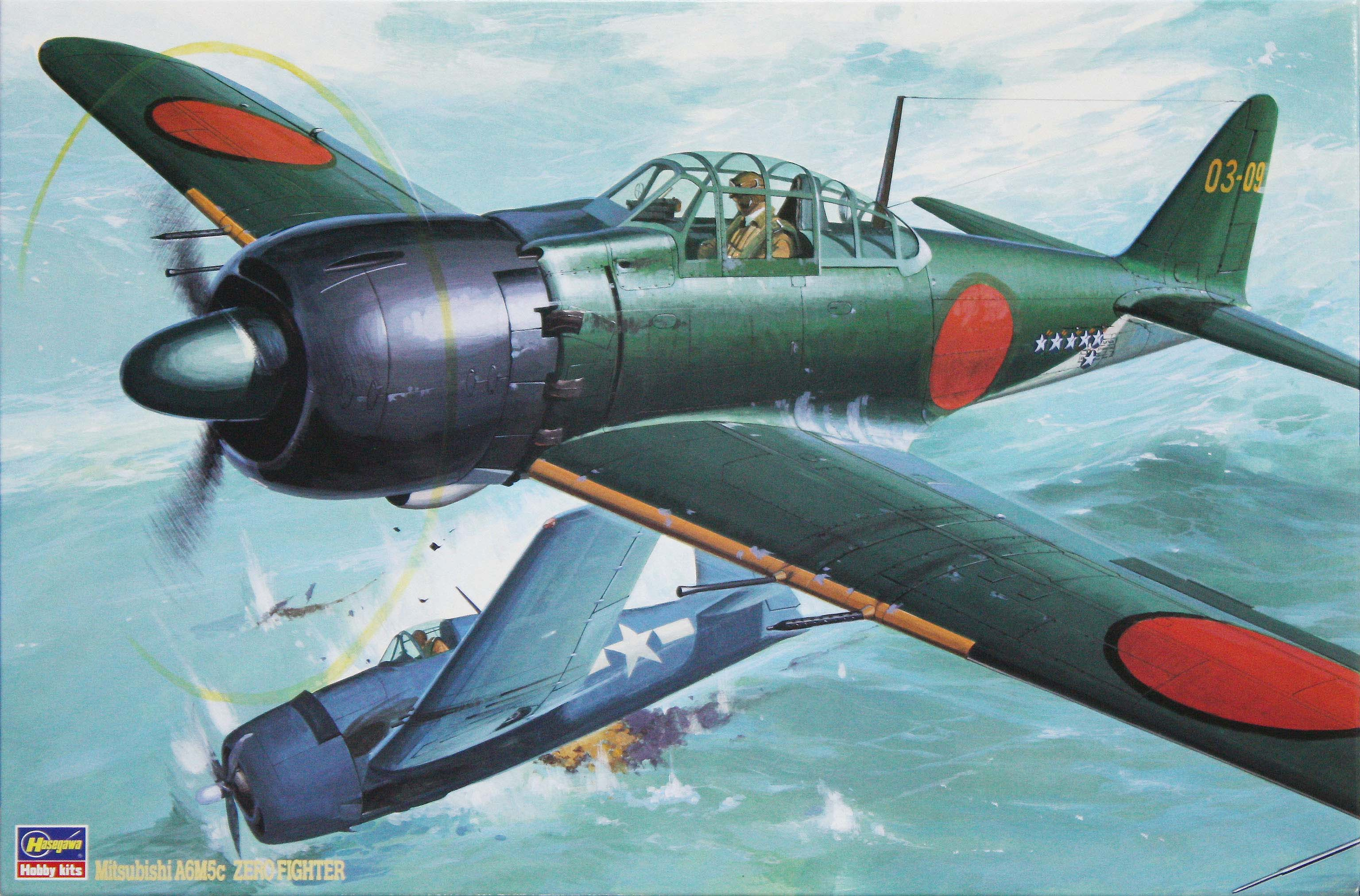 Hasegawa 1/32 Zero Fighter Type 52 (Zeke)