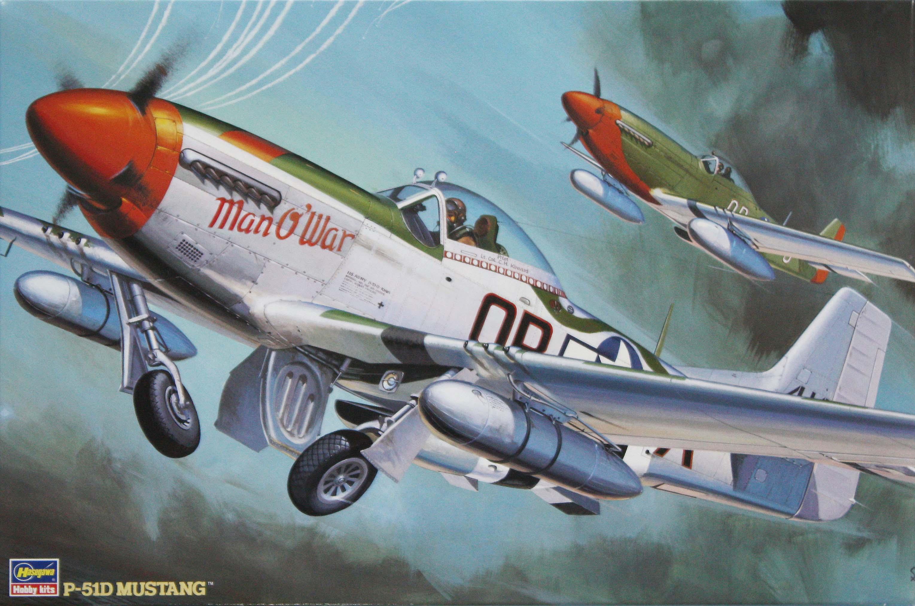Hasegawa 1/32 P-5ID Mustang