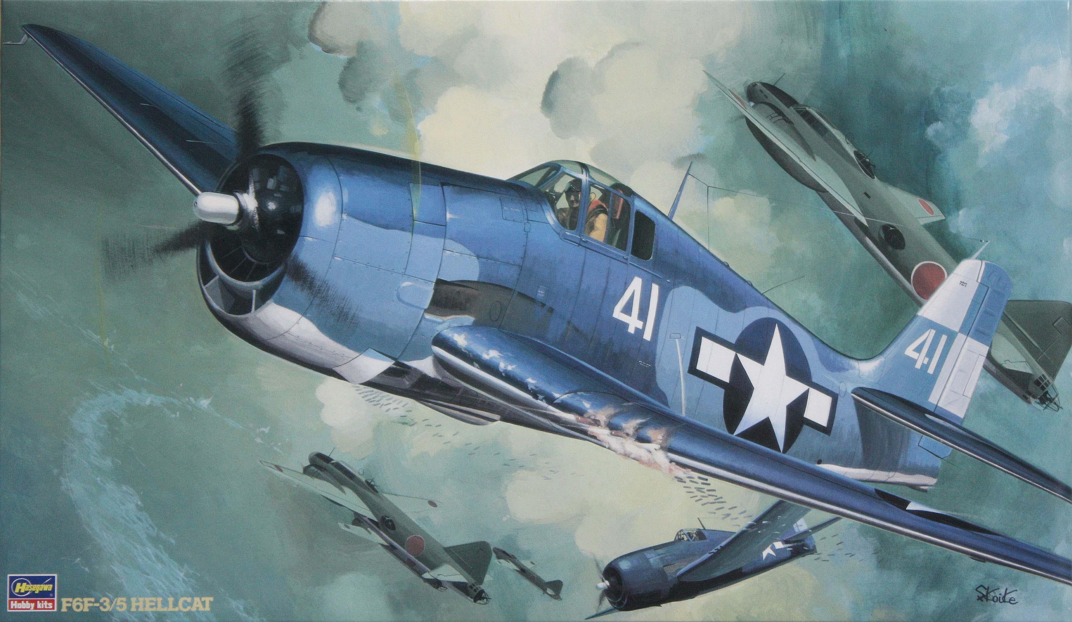Hasegawa 1/32 F6F-3/5 Hellcat
