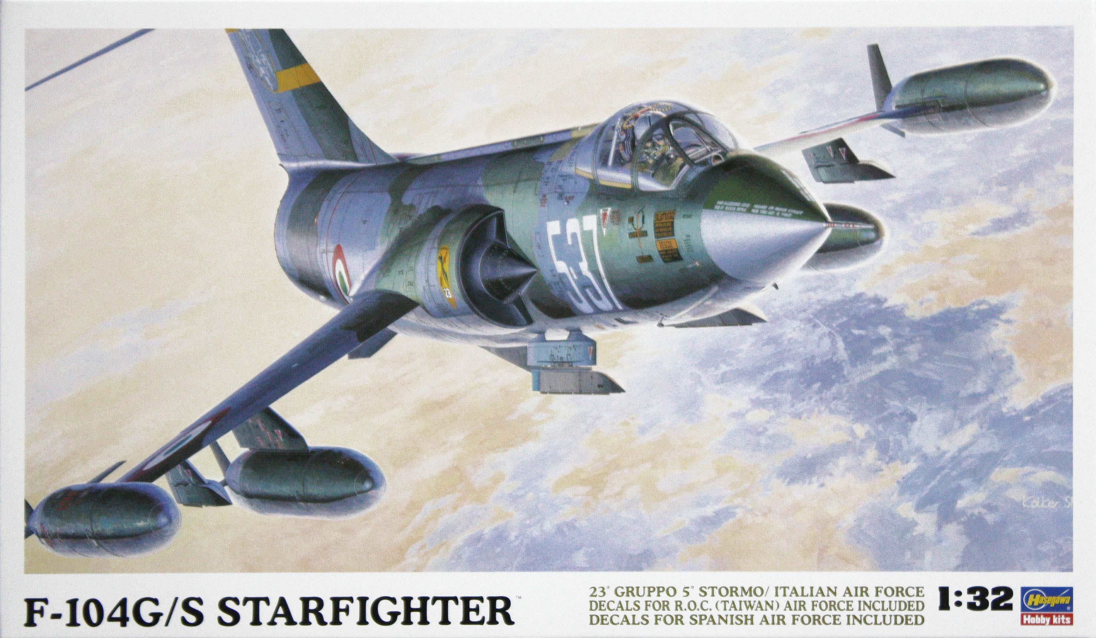 Hasegawa F-104G/S Starfighter