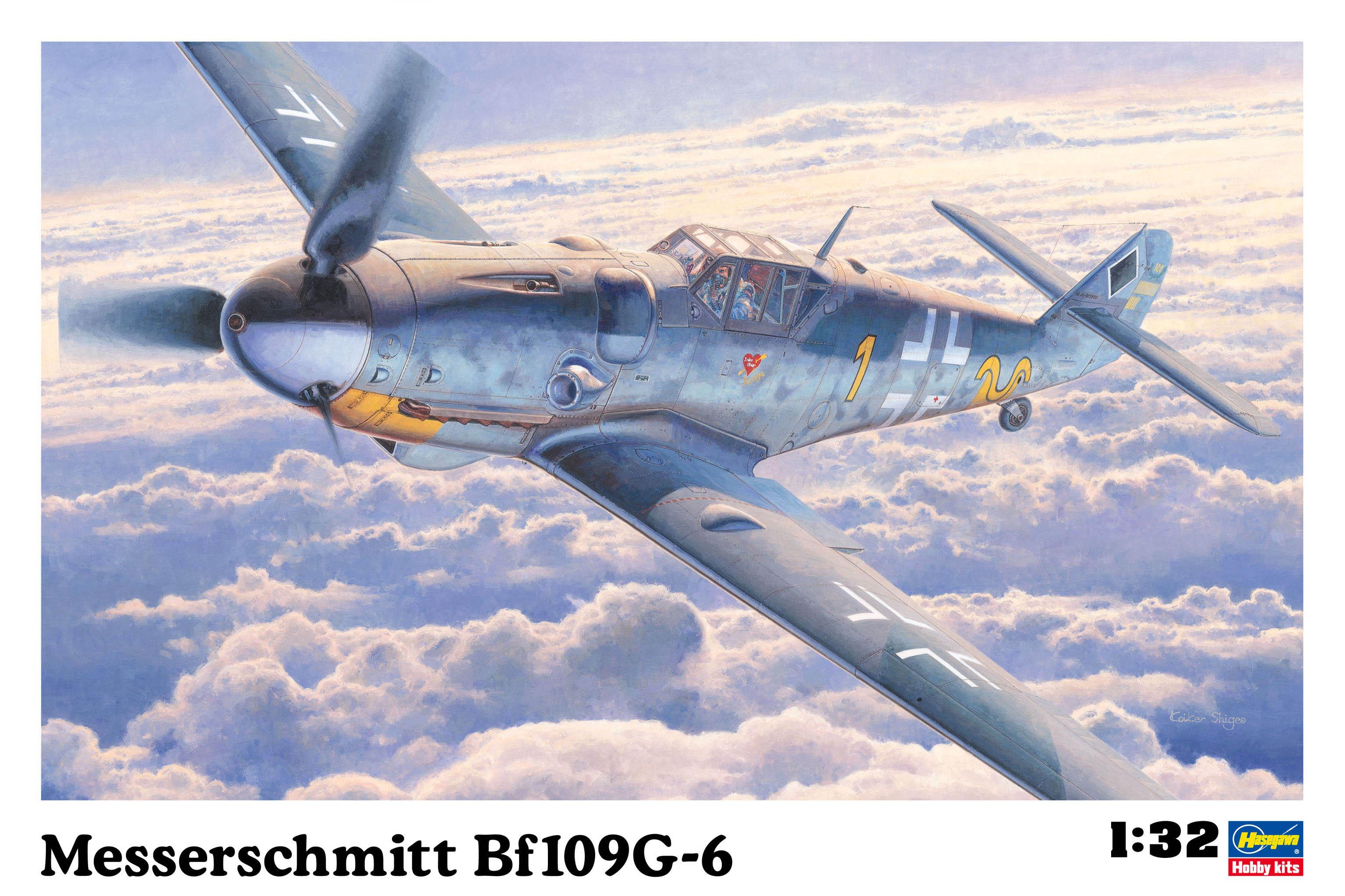 Hasegawa Messerschmitt Bf109G-6 ST17