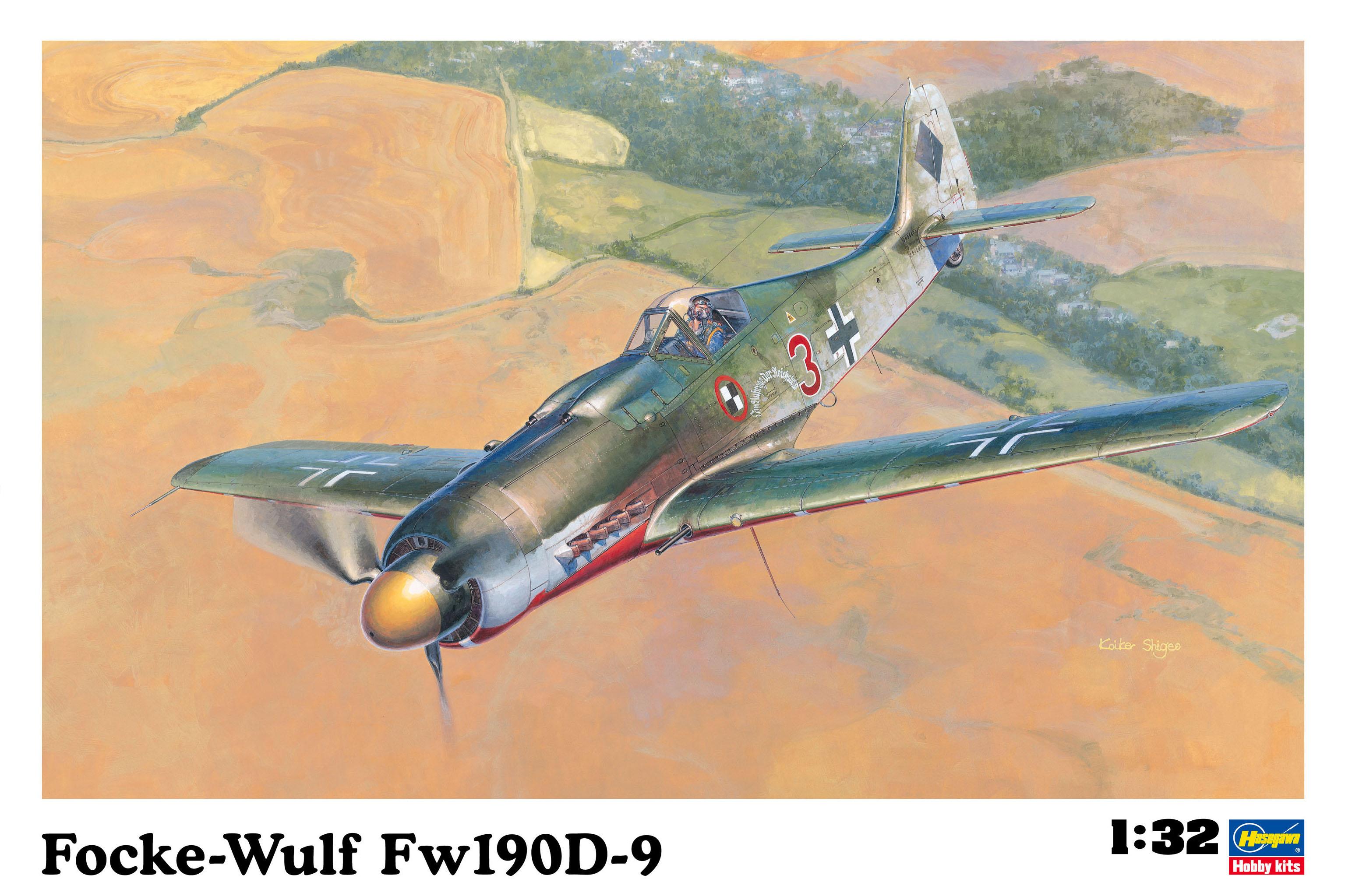 Hasegawa Fockewulf Fw190D-9 ST19