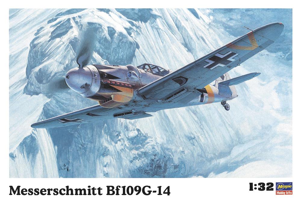 Hasegawa 1/32 Messerschmitt Bf109G-14 ST18