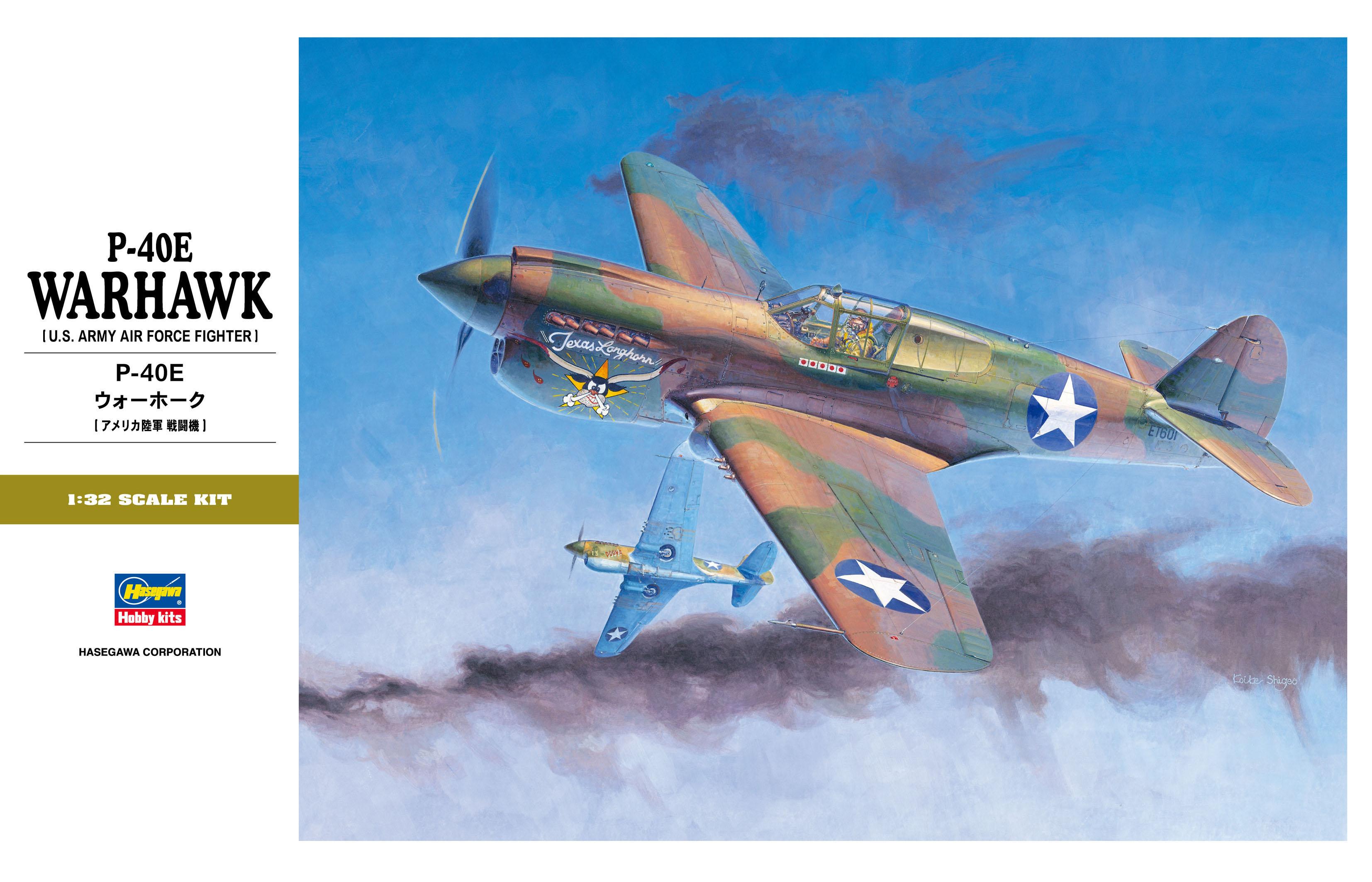 Hasegawa P-40E Warhawk