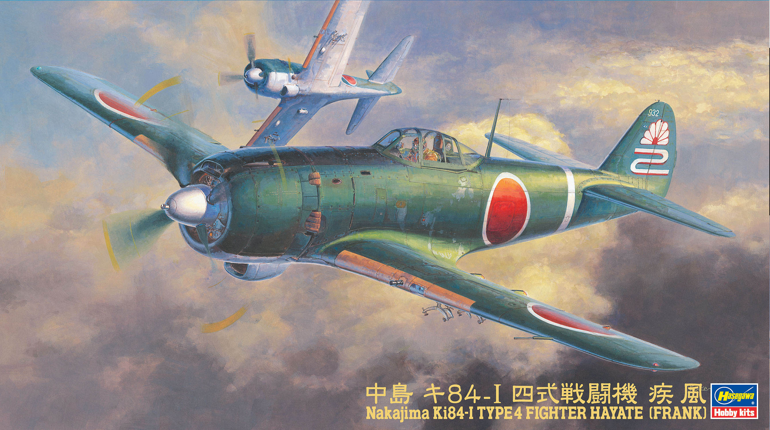 Hasegawa 1/48 Type4 Frank (Hayate)