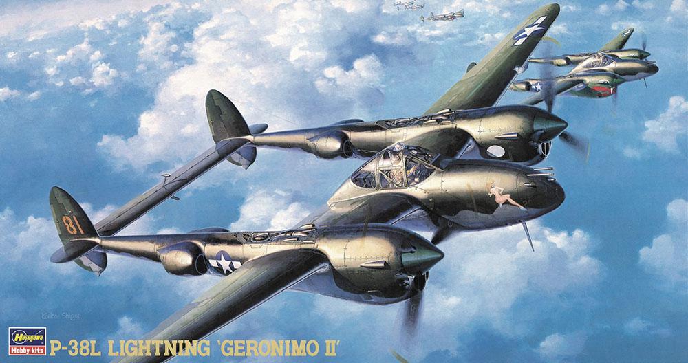 Hasegawa 1/48 P-38L Lightning JT2