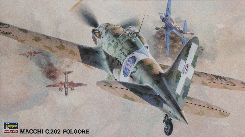 Hasegawa 1/48 Macchi C. 202 Folgore JT32