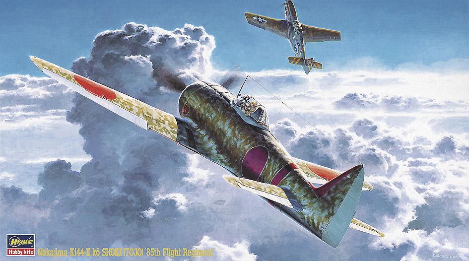 """Hasegawa 1/48 Nakajima Ki44-II ko Shoki (Tojo) """"85th Flight Regime"""""""