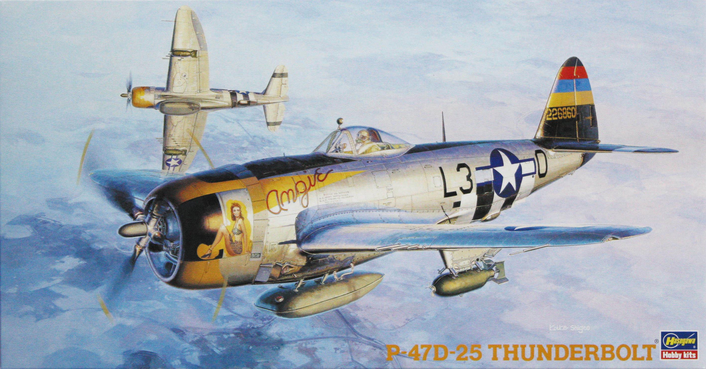 Hasegawa 1/48 P-47D-25 Thunderbolt