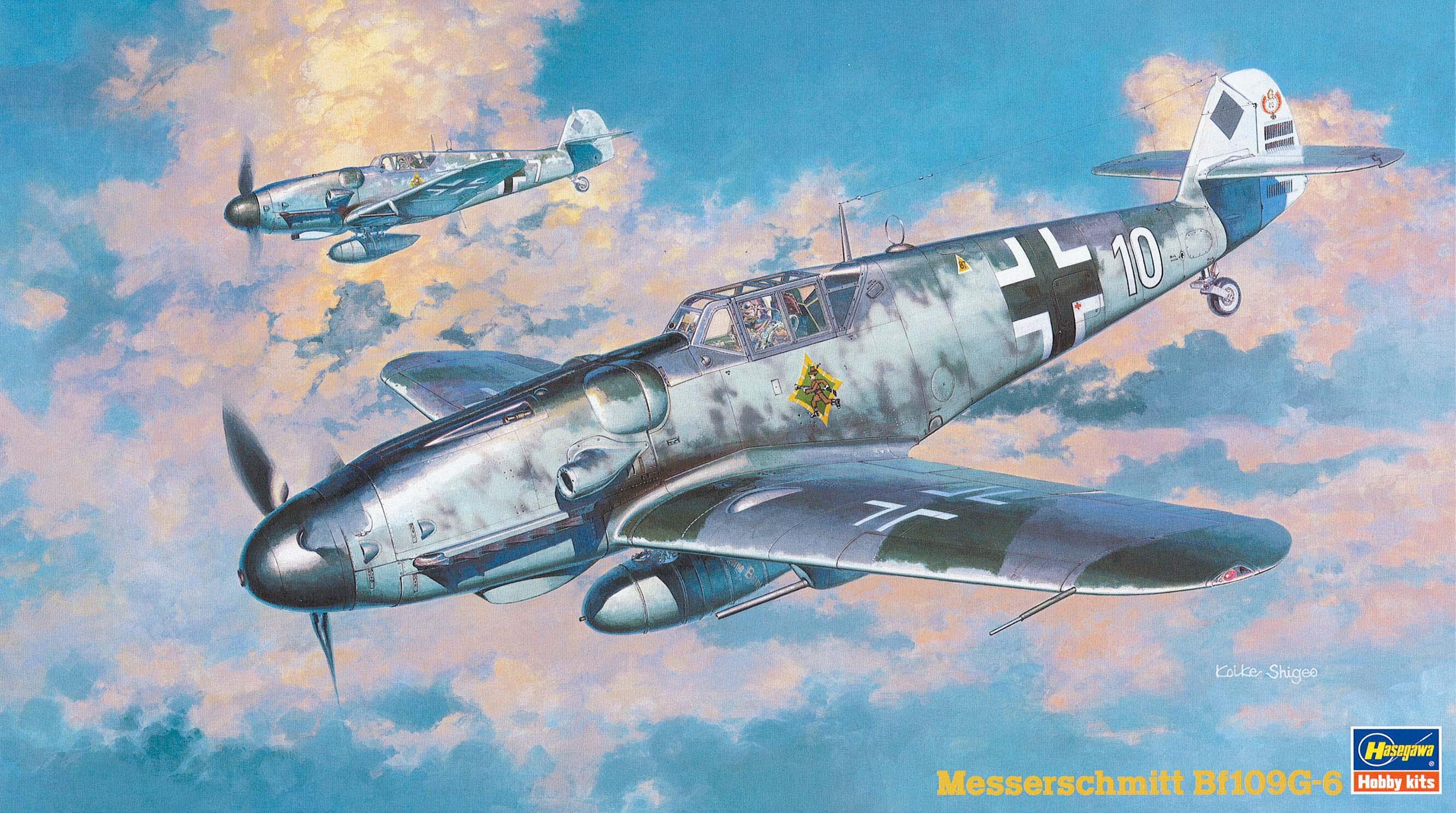Hasegawa 1/48 BF109G-6