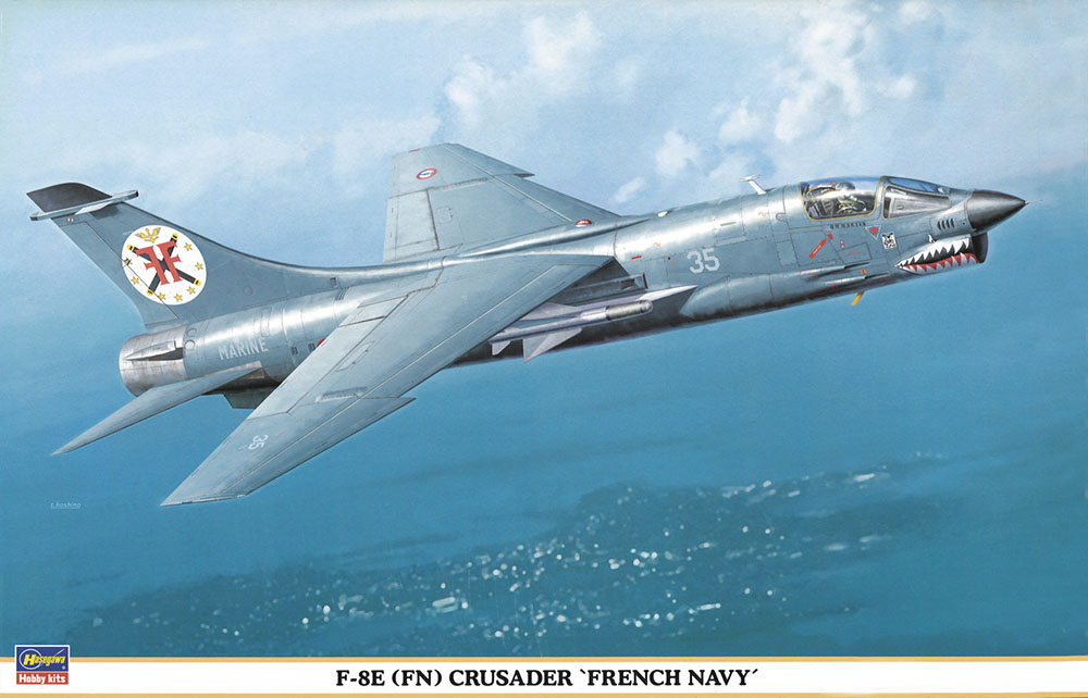 "Hasegawa 1/48 F-8E (FN)  ""French Navy"""