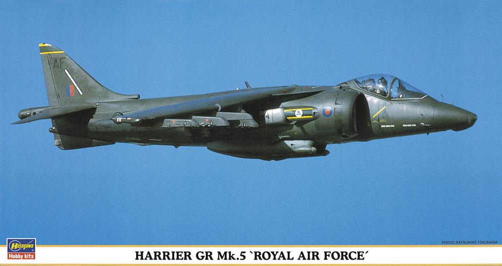 """Hasegawa 1/48 Harrier GR MK.5 """"Royal A.F"""""""