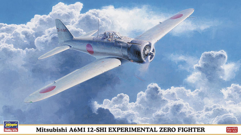 Hasegawa 1/48 Mitsubishi A6M1 12-SHI EXPERIMENTAL ZERO FIGHTER
