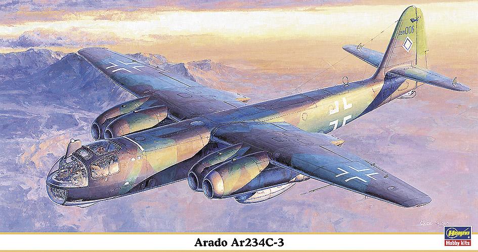 Hasegawa 1/48 Arado Ar234C-3