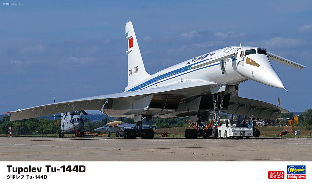 Hasegawa 1/144 Tupolev Tu-144D