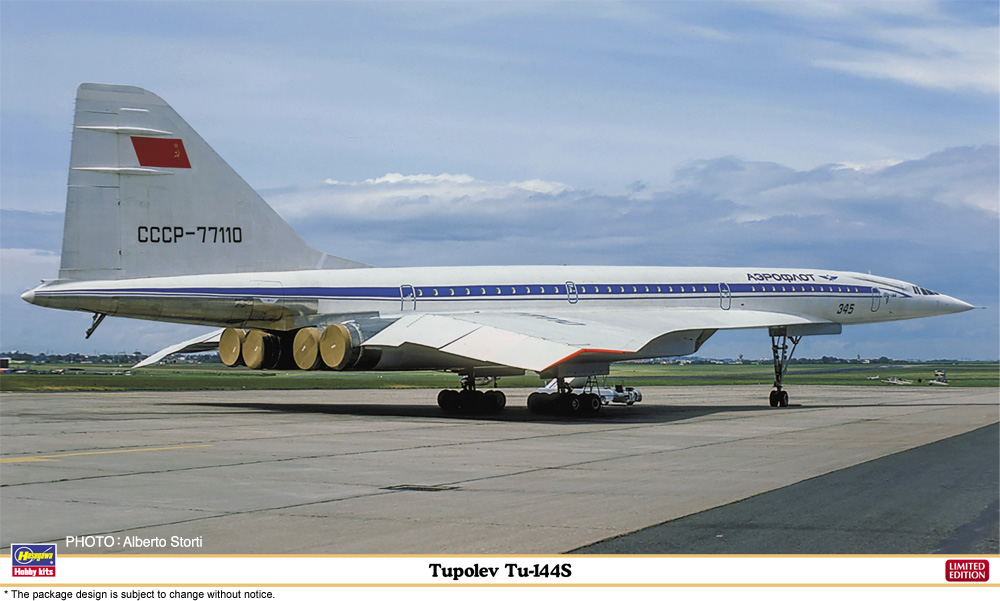 Hasegawa 1/144 Tupolev Tu-144S