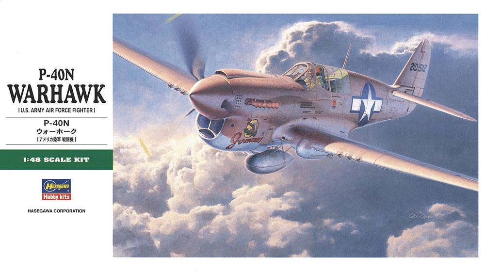 Hasegawa 1/48 P-40N Warhawk JT88